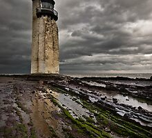 Southerness Lighthouse by Brian Kerr