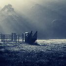 early morning rural scenery by ozzzywoman