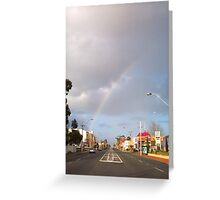 Suburban Rainbow 01 Greeting Card