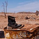 Lonesome shoe, South Sinai, Egypt by NicoleBPhotos