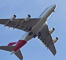 A380 on short final by diggle