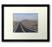 Roadtrip Framed Print