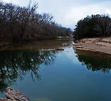Lazy River and Ancient Rocks by Lisa Holmgreen