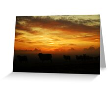 """""""THE FLOCK"""" Greeting Card"""