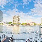 Chao Phraya Panoramic by Louis Tsai