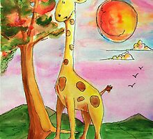 Giraffee by Mark Malinowski