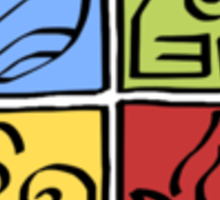 Avatar - Four Nations Sticker