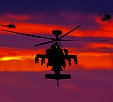 Apache sunset by Doug McRae