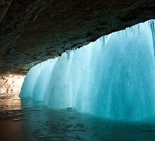 Frozen Waterfall by Bryant Scannell