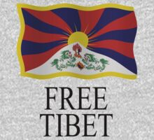Free Tibet by stuwdamdorp