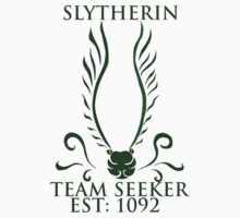 slytherin tee by hamichchilcott
