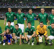 Rep of Ireland football team by A Man with His Camera
