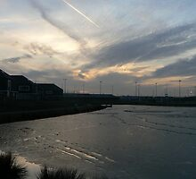 sunset view-sports centrum by LisaBeth