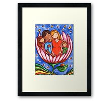 Peaceful Pregnancy Framed Print