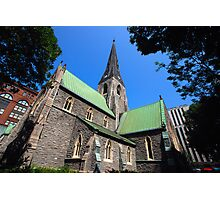 Christ Church Angelican Cathedral - Montreal Photographic Print