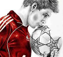 Liverpool's Steven Gerrard by IDesigns
