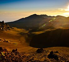 Sunrise Haleakala Volcano by IdahoJim
