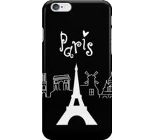 I love Paris iPhone Case/Skin