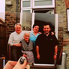 My grandparents, great grandmother and dad 1990 by emferrari