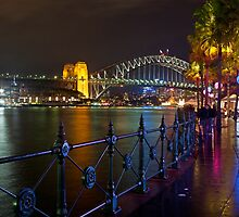 Circular Quay during Vivid Sydney by Louis Tsai