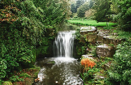 Jesmond Dene Waterfall by Stuffy
