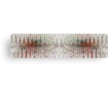 Oscillogram Canvas Print