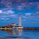 St Mary's Lighthouse by Stuffy