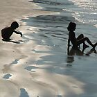 Children by the Sea Palolem by SerenaB