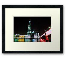 The Shard Framed Print