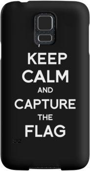 Keep Calm and Capture the flag by tombst0ne