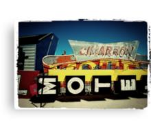 Neon Cimarron Canvas Print