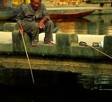 Hoi An Fisherman by Karl Willson
