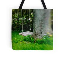 Swing on the tree Tote Bag