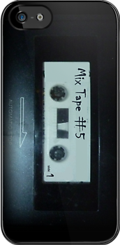 Mix Tape phone case by Margaret Bryant