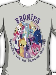 Bronies, classic logo T-Shirt