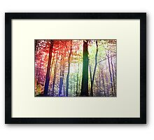 Forest of Friends Framed Print
