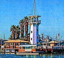 Forbes Island Light House by Linda Miller Gesualdo