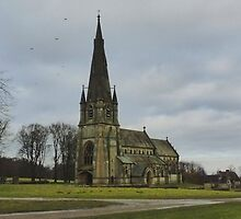 St. Mary's Church - Studley Royal, Ripon by Kat Simmons