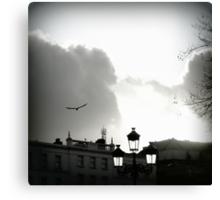 Dublin sky Canvas Print