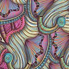 Gates of the Nereids Greeting Card by Janet Antepara
