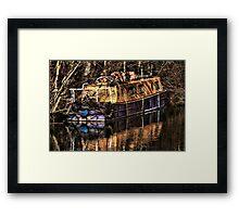 The Narrowboat Framed Print