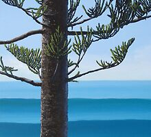 """Norfolk Pine"" by Leisa O'Brien"