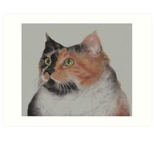 In Remembrance of my Beloved Cali...12-24-12. Rest in Peace, My Dear Little Girl Art Print