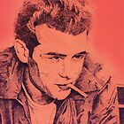 James Dean by debbiemc