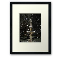 Feb. 19 2012 Snowstorm 54 Framed Print