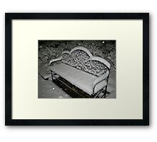 Feb. 19 2012 Snowstorm 57 Framed Print