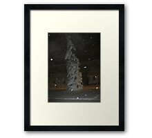Feb. 19 2012 Snowstorm 63 Framed Print