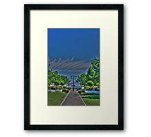 Winery  Framed Print