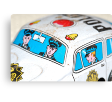 Toy Cops Canvas Print