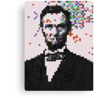 Pixel Splat Canvas Print